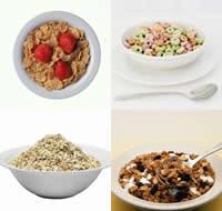 Tomar cereais no café da manhã é um bom costume