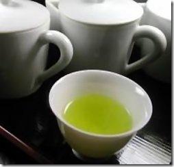 Chá verde para emagrecer