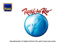 ITAUCARD INGRESSOS ROCK IN RIO