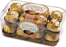 CHOCOLATE FERRERO ROCHER, WWW.FERRERO.COM