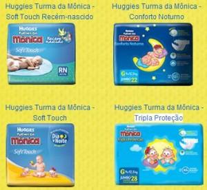 PROMOÇÃO FRALDAS TURMA DA MÔNICA