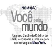 PROMOÇÃO VOCÊ PELO MUNDO HSBC