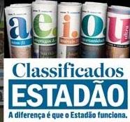 CLASSIFICADOS DO ESTADÃO, WWW.CLASSIFICADOSDOESTADAO.COM.BR
