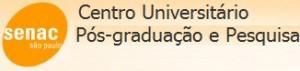 PÓS GRADUAÇÃO SENAC, WWW.SP.SENAC.BR/POSGRADUACAO
