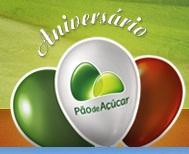 WWW.PAODEACUCAR.COM.BR/ANIVERSARIO, PROMOÇÃO ANIVERSÁRIO PÃO DE AÇÚCAR
