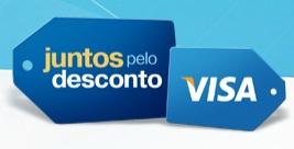 PROMOÇÃO JUNTOS PELO DESCONTO VISA, WWW.VISA.COM.BR/JUNTOSPELODESCONTO