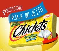 WWW.VIAJEDOJEITOCHICLETS.COM.BR, PROMOÇÃO VIAJE DO JEITO CHICLETS