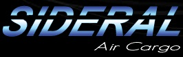SIDERAL AIR CARGO, WWW.SIDERALAIRCARGO.COM.BR