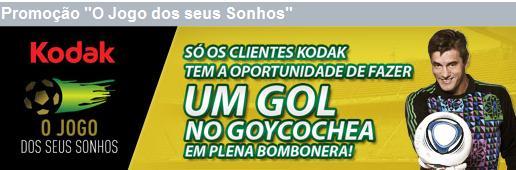 WWW.OJOGODOSSEUSSONHOS.COM.BR, PROMOÇÃO O JOGO DOS SEUS SONHOS KODAK