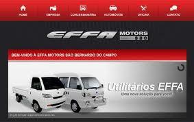EFFA MOTORS, WWW.EFFAMOTORS.COM.BR