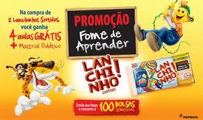 WWW.LANCHINHOSORTIDO.COM.BR, PROMOÇÃO FOME DE APRENDER