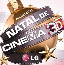 WWW.NATALDECINEMA3DLG.COM.BR, PROMOÇÃO NATAL DE CINEMA 3D LG