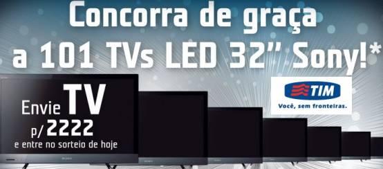 WWW.101TVS.COM.BR, PROMOÇÃO 101 TVS GRÁTIS TIM