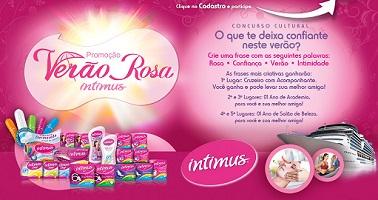 PROMOÇÃO VERÃO ROSA INTIMUS, PARTICIPAR, WWW.VERAOROSAINTIMUS.COM.BR