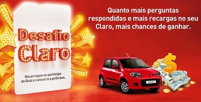 WWW.DESAFIOCLARO.COM.BR, PROMOÇÃO DESAFIO CLARO
