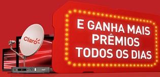 WWW.PREMIOSTODODIACLARO.COM.BR, PROMOÇÃO TV GRÁTIS TODO DIA CLARO