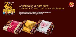 PROMOÇÃO 20 ANOS CAPPUCCINO 3 CORAÇÕES, WWW.PERFEITOPARA.COM.BR/20ANOS