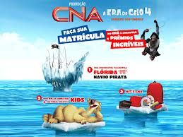 PROMOÇÃO A ERA DO GELO 4 CNA, WWW.ERADOGELOCNA.COM.BR
