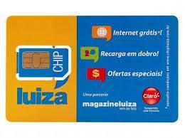 WWW.CHIPLUIZA.COM.BR, CHIP LUIZA CLARO
