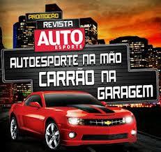 PROMOÇÃO REVISTA AUTOESPORTE, WWW.AUTOESPORTE.COM.BR/CARRAONAGARAGEM