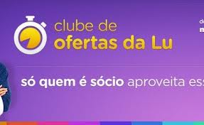 CLUBE DE COMPRAS MAGAZINE LUIZA, WWW.CLUBEDALU.COM.BR