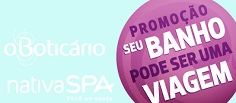 PROMOÇÃO NATIVA SPA O BOTICÁRIO, WWW.BOTICARIO.COM.BR/PROMOCAONATIVASPA