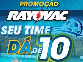 PROMOÇÃO RAYOVAC DÁ DE 10, DADE10.RAYOVAC.COM.BR