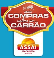 PROMOÇÃO SUAS COMPRAS VALEM UM CARRÃO, WWW.ASSAI.COM.BR/PREMIOS