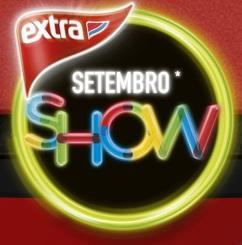PROMOÇÃO EXTRA SETEMBRO SHOW, WWW.EXTRA.COM.BR/PROMOCAOEXTRA