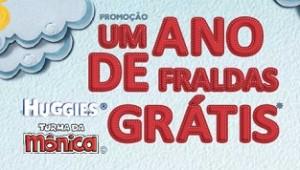 PROMOÇÃO HUGGIES TURMA DA MÔNICA 2013, WWW.1ANODEFRALDAS.COM.BR