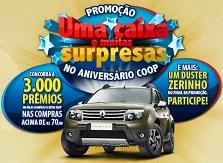PROMOÇÃO UMA CAIXA E MUITAS SURPRESAS NO ANIVERSÁRIO COOP, WWW.COOPEMCASA.COM.BR/ANIVERSARIO