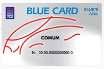 BLUE CARD DANUBIO AZUL