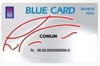 BLUE CARD DANUBIO AZUL
