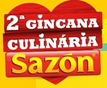 GINCANA CULINÁRIA SAZÓN, COMO PARTICIPAR, WWW.GINCANASAZON.COM.BR