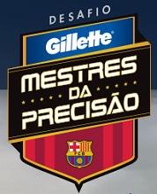 PROMOÇÃO DESAFIO GILLETTE MESTRES DA PRECISÃO, WWW.PRECISAOGILLETTE.COM.BR
