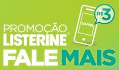 PROMOÇÃO LISTERINE FALE MAIS, WWW.LISTERINE.COM.BR/PROMOCAO-FALE-MAIS