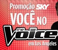 PROMOÇÃO SKY VOCÊ NO THE VOICE, WWW.SKYNOTHEVOICELA.COM.BR