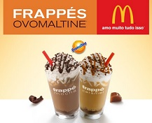 FRAPPÉS OVOMALTINE MCDONALD'S, WWW.FRAPPENOMC.COM.BR
