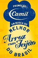PROMOÇÃO CAMIL: EM BUSCA DO MELHOR ARROZ COM FEIJÃO DO BRASIL, WWW.MELHORARROZCOMFEIJAO.COM.BR