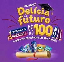 PROMOÇÃO DELÍCIA DE FUTURO MONDELĒZ, WWW.DELICIADEFUTURO.COM.BR