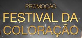 PROMOÇÃO FESTIVAL DA COLORAÇÃO, WWW.FESTIVALDACOLORACAO.COM.BR