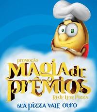 PROMOÇÃO REDE LEVE PIZZA MAGIA DE PRÊMIOS, REDELEVEPIZZA.COM.BR/MAGIADEPREMIOS