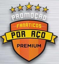 PROMOÇÃO FANÁTICOS POR AÇO ARCELORMITTAL, WWW.FANATICOSPORACO.COM.BR