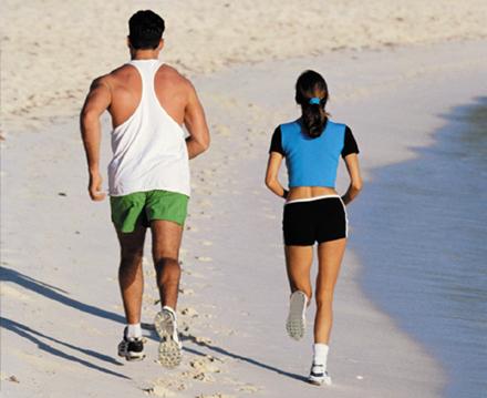 Benefícios de exercícios praticados adequadamente