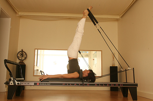 O Método Pilates, o exercício das estrelas