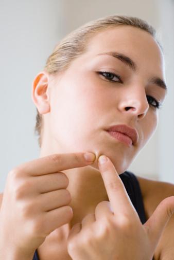 A acne em adultos