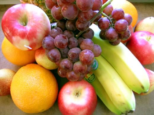 Top frutas saudáveis