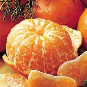 Tangerinas, rica em vitamina C