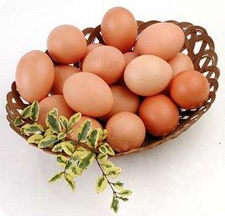 Calorias dos ovos