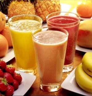 Benefícios dos sucos naturais